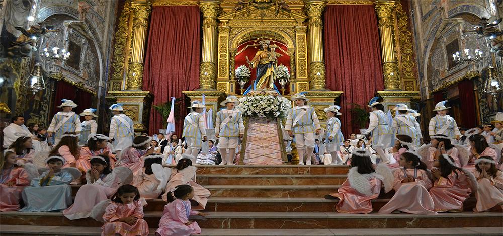 Solemne Bajada de María Auxiliadora Coronada 2016